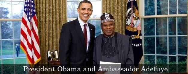 Open Letter to Ambassador Adefuye, Nigeria's Ambassador to the United States.
